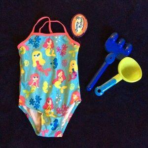 3 for $20 2T Girl's Kid's Mermaid Swim Wear suit